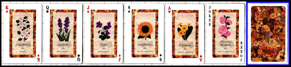 The Language Of Flowers Playing Cards Aeclectic Tarot