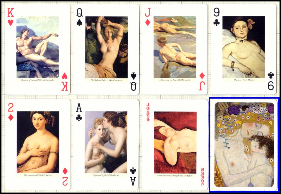 xxx rated playing cards