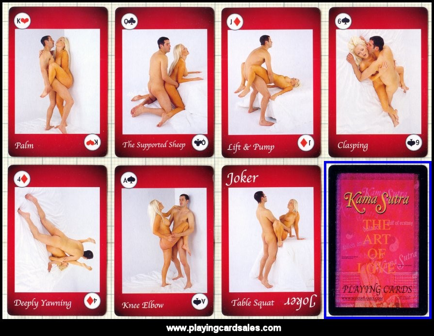 Remarkable, sex position playing card deck have kept