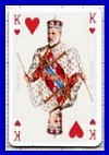 Tudor Rose Patience Playing Cards (double pack only*) by Piatnik - Cat Ref 10006