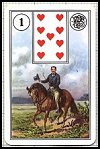 Mlle. Lenormand Cartomancy Deck by Piatnik - Cat Ref 10034