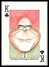 Playing Politics '87 or Jungle Parties Playing Cards by InterCol - Cat Ref 10092