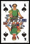 Freizeit Playing Cards (French suits) by A.S., c1984 - Cat Ref 10346