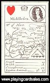 Morden's Map Cards of 1676 (Facsimile) by Harry Margary - Cat Ref 10403