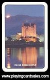 English pattern  - Backs: Eilean Donan Castle (RS) by R. Somerville - Cat Ref 10738