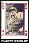 Charles de Gaulle Playing Cards by France Cartes, 1990. - Cat Ref 11453