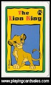 Lion King , The - Families card game by Waddingtons Games Ltd., 1994 - Cat Ref 11587