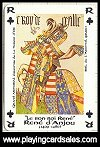 Chevaliers de la Toison d'Or Playing Cards published by ditions Dusserre - Cat Ref 11680