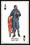 Kings & Queens of England Playing Cards publ. by Heritage Toy & Game Co., 1993 - Cat Ref 11828