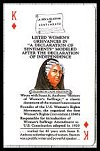 Famous Women In American History Playing Cards publ. by U.S. Games Systems, Inc., 1992. - Cat Ref 11874