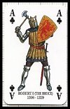 Kings & Queens of Scotland Playing Cards publ. by Heritage Toy & Game Co. Ltd., 1993 - Cat Ref 12008