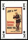 Second World War Posters Playing Cards publ. by British Heritage Limited (formerly Phillip Lewis) - Cat Ref 12039