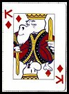 Bone Playing Cards publ. by Graphitti Designs, Inc., 1996 - Cat Ref 12585