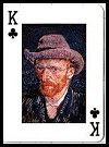 Impressionist Portraits Playing Cards by Piatnik for Antony Bird, 1997. - Cat Ref 12794