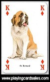Dogs of the World Playing Cards (Heritage) publ. by Heritage Playing Card Company, 1997. - Cat Ref 12903