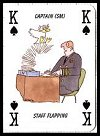 Jackspack Playing Cards by Carta Mundi for Hold Fast Naval Cards, 1996 (issued 1997). - Cat Ref 12920