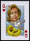 Politicards 1996 Playing Cards publ. by Action Publishing, 1996. - Cat Ref 12998
