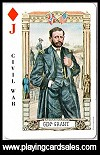 American Historical Playing Cards (Large) publ. by U.S. Games Systems Inc., 1974 - Cat Ref 13027