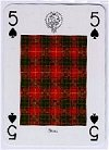Clans & Tartans of Scotland Playing Cards - Lowland publ. by Neil Macleod, 1998. - Cat Ref 13085