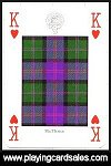 Clans & Tartans of Scotland Playing Cards - Highland publ. by Neil Macleod, 1998. - Cat Ref 13086