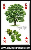 Trees Playing Cards publ. by Heritage Playing Card Company - Cat Ref 13293