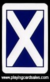 English pattern  - Scottish Flag (RS) by Richard Edward Ltd for R. Somerville - Cat Ref 13332