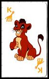 Lion King Playing Cards, The - Simba's Pride (large) by USPC Co - Cat Ref 13365