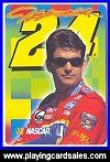 Jeff Gordon Playing Cards (double pack only*) by USPC Co - Cat Ref 13372
