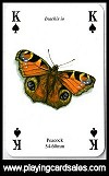 Butterflies Playing Cards publ. by Heritage Playing Card Company, 1999. - Cat Ref 13420