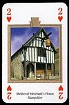 Historic Houses Playing Cards publ. by Heritage Toy & Game Co. Ltd., 1999. - Cat Ref 13475