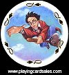 Harry Potter Playing Cards - Round Cards by Carta Mundi, 2001. - Cat Ref 13624