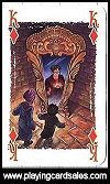 Harry Potter Playing Cards - magic cards by Carta Mundi, 2001 - Cat Ref 13625