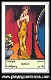 Art Deco Fortune Telling Cards by Piatnik - Cat Ref 13721