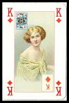 Portraits of a Lady Playing Cards by Lo Scarabeo, 2003 - Cat Ref 13765
