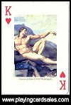 The Nude Playing Cards by Piatnik - Cat Ref 13847