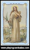Saints Oracle Cards by Lo Scarabeo - Cat Ref 13894