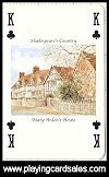 Shakespeare's Country Playing Cards by SAC Ltd - Cat Ref 13901