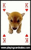 Hanadeka - Dogs Playing Cards by Piatnik - Cat Ref 13950
