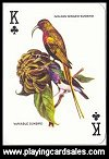 Special Poker Birds Playing Cards by Modiano - Cat Ref 14008