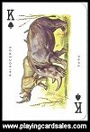 Special Poker Animals Playing Cards by Modiano - Cat Ref 14011