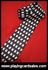 Playing Card Tie by Fox & Chave - Cat Ref 14213