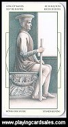 Mini Tarot - Da Vinci by Lo Scarabeo, 2006 - Cat Ref 14345