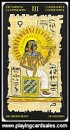 Egyptian Tarot - 22 Grand Trumps by Lo Scarabeo, 2006 - Cat Ref 14354