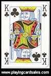 English pattern - Waddingtons Number 1 Poker Deck by Winning Moves UK Ltd, 2005 - Cat Ref 14369