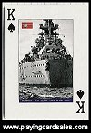 World War Two Battleships by Piatnik for Antony Bird, 2006 - Cat Ref 14376