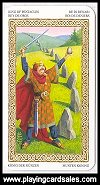 Mini Tarot - Druids by Lo Scarabeo, 2006 - Cat Ref 14402