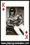 Man - the body beautiful - playing cards by Piatnik for Antony Bird, 2007 - Cat Ref 14417