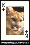 Animals of the Wild published by Bird Playing Cards, 2007 - Cat Ref 14503