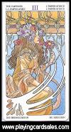Tarot Art Nouveau - 22 Grand Trumps by Lo Scarabeo, 2007 - Cat Ref 14537