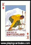Ski Art by Piatnik for Bird Playing Cards, 2008 - Cat Ref 14558